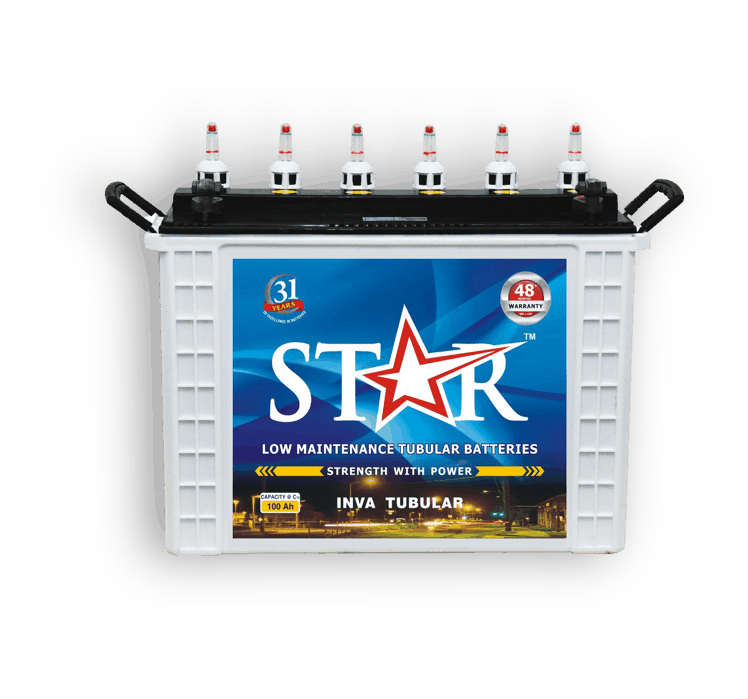 Star SIT-E1500 Tubular Battery