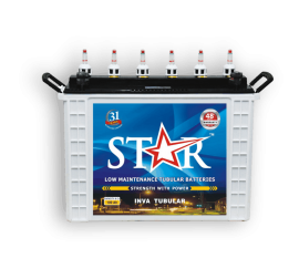 Star tubular batteries are the ideal choice for home